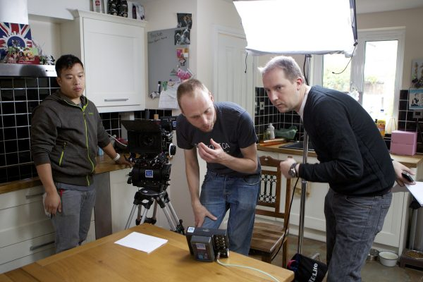 ADOBE CS6 and Premiere shoot with Philip Bloom..31-7-12.photo: Andy Paradise