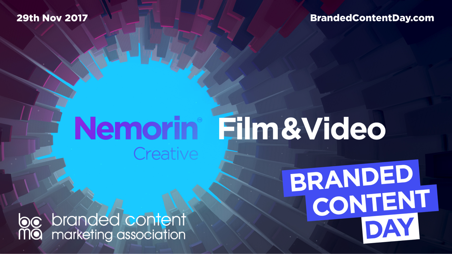Branded Content Day is Wednesday 29th November!